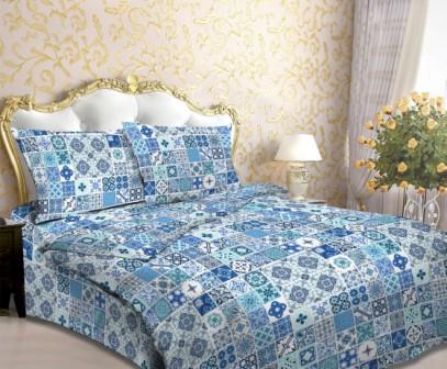 Мозаика голубая